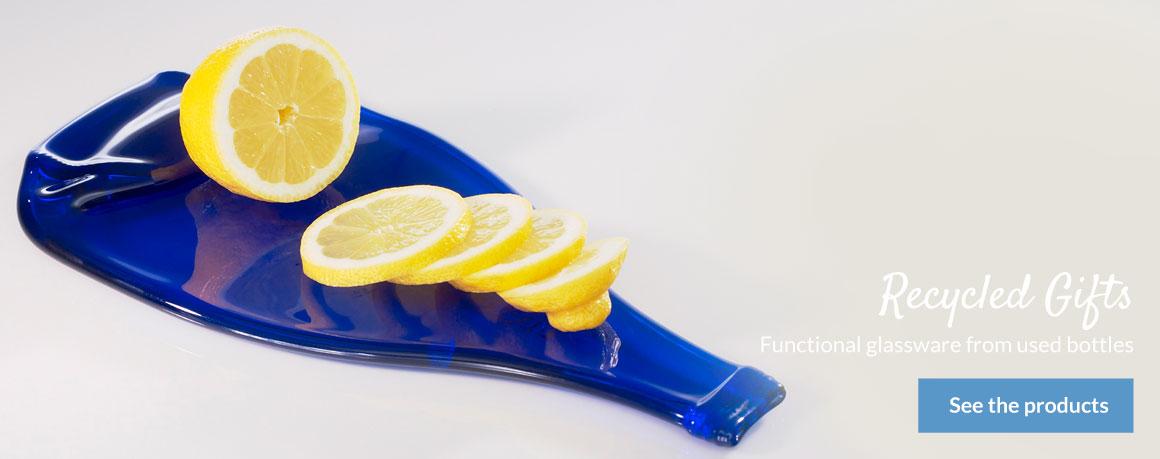 Lemon Gin Cutting Board, Unique Glass Shop
