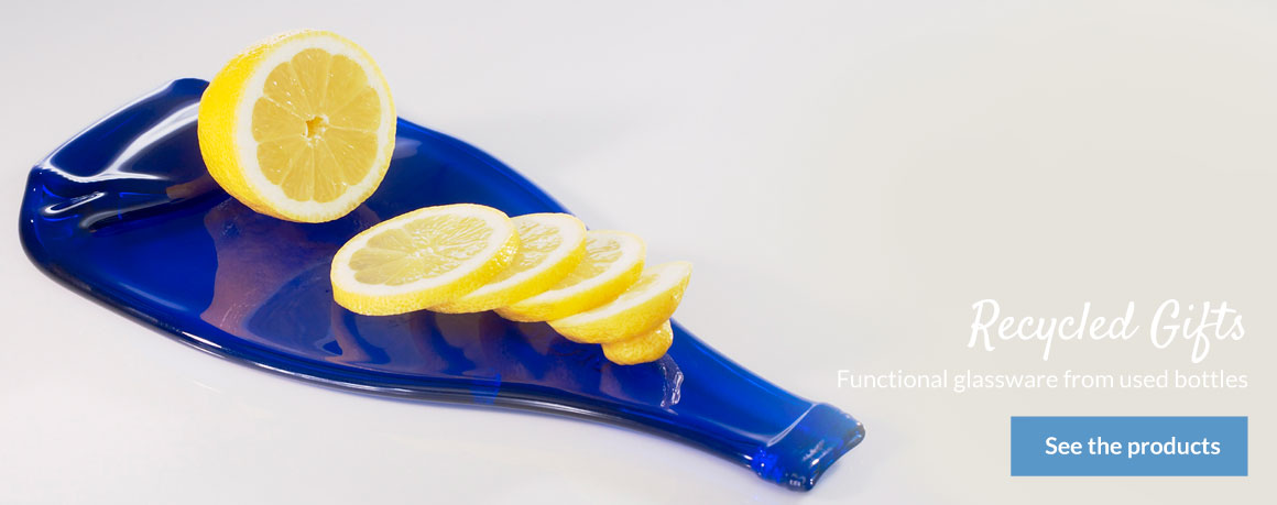 Lemon Gin Cutting Board, Unique Glass Shop